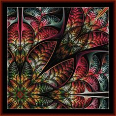 Fractal 551 cross stitch pattern by Cross Stitch Collectibles | Crafting | Cross-Stitch | Wall Hangings