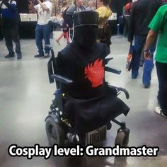 """""""It's just a flesh wound."""" Lol This is some cleverly epic cosplay.  ♡"""