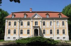 Palace in Stülpe, a village (part) of the municipality Nuthe-Urstromtal in Brandenburg, Germany. The palace was built in 1754 by order of Adam Ernst von Rochow