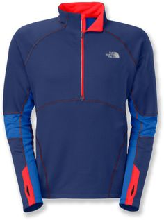 The Momentum Thermal half-zip top from The North Face delivers lightweight, unrestricted warmth. #REIGifts