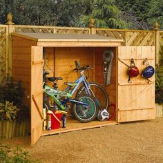 Need this for the side of the house - for bikes, baby jogger, wagon, and car washing supplies.