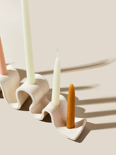 Ceramics Projects, Clay Projects, Clay Crafts, Ceramic Clay, Ceramic Pottery, Pottery Art, Ceramic Decor, Clay Candle Holders, Candle Sticks