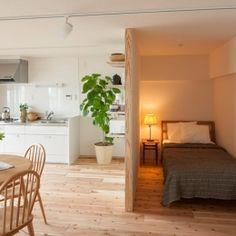 Bedroom Design, Fashion Room, Small Apartment Interior, Room Design Bedroom, Home Decor, House Interior, Japanese Interior Design Small Spaces, Home Deco, Apartment Interior