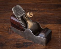 Fine SPIERS Rosewood and Dovetailed Steel Smooth Plane