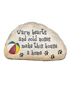 Love this 'Warm Hearts and Cold Noses' Wall Sign by GANZ on #zulily! #zulilyfinds
