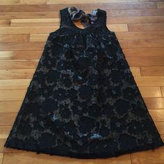 Black dress Floral pattern black dress Forever 21 Dresses Midi