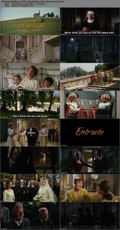 Various scenes from the Sound of Music <3