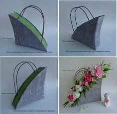 Флористические материалы, гофрированная бумага