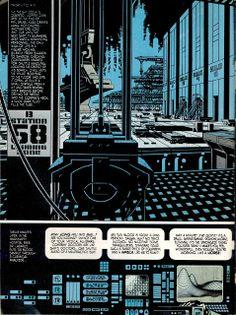 Read Jim Steranko's OUTLAND Adaptation | Forces of Geek: we like pop culture. Jim Steranko, Comic Book Artists, Comic Artist, X Men, Marvel Universe, Pop Culture, Legends, Drawing Reference, Comics