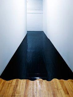 Inked floor