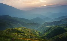 Sunrise At Terrace In Guangxi China 8 guangxi terrace field south china chinese far east southeast asia asian eastern oriental pacific country travel vacation holiday adventure journey Vacation Trips, Southeast Asia, Terrace, Oriental, Sunrise, Chinese, Journey, Asian, Adventure