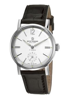 Price:$1867.00 #watches Revue Thommen 17082-3532, Revue Thommen was founded in 1853 by Gedeon Thommen and has since developed into one of the leading Swiss watch companies. Early on, only wristwatches and pocket watches were produced and they relied exclusively on their own movements.