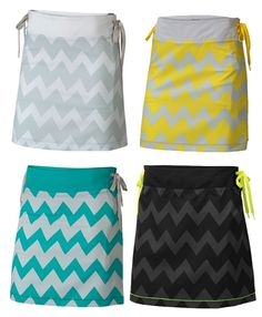 PING Ladies Piper Chevron Golf Skort in 4 colors.