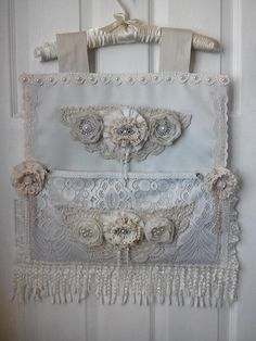 A bespoke shabby chic wall hanging by Shabbyonthecheap on Etsy