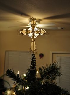 Capiz Hearts Cross Tree Topper Crosses Are A Symbol Of