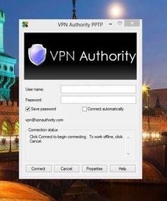 VPN Authority log-in
