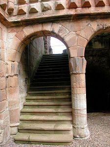 Crichton Castle Staircase