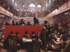 LA SALLE GRAFFARD......138 BOULEVARD MENILMONTANT.........1884..............................PARTAGE DE LE PEINTRE JEAN BERAUD.........SUR FACEBOOK.........