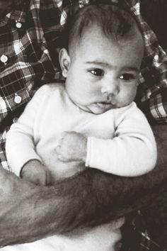 Not a Kardashian fan...but this child.....CUTE.