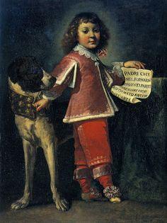 Portrait of Sigismondo Ponzone, 1646. Luigi Miradori, called Il Genovesino. Cremona, Museo Civico