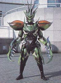 Mantor is the first Rinshi chosen by Dai Shi. He has the spirit of the mantis. He gathers the fear from the humans in order to gain strength. At first he is brutally beaten by Master Mao but Camille empowers him with even more Rinshi power. He destroys the dam outside of Ocean Bluff. He grows and the rangers use the Jungle Pride Megazord. He is destroyed by the Jungle Pride Megazord Savage Spin. Notes A flashback of Mantor's defeat at the hands of Casey in Welcome to the Jungle: Part 2…