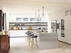 Kitchen in a home in London, UK designed by Rose Uniacke