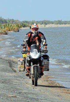 KTM 1190 Adventure R in Afrika