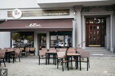 Wejście do kawiarni 12 oz w Berlinie