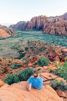 Snow Canyon is one of the primer outdoor destinations near St. George, Utah - between hiking, biking, climbing, and camping, there's something for everyone at this state park! Great alternatives to Utah National Parks.