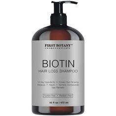 Hair Regrowth and Anti Hair Loss Shampoo 16 fl oz, with 14 DHT blockers- Daily Hydrating, Detoxifying, Volumizing Shampoo For Men and Women - Walmart.com - Walmart.com Biotin For Hair Loss, Anti Hair Loss Shampoo, Natural Shampoo, Healthy Hair Growth, Natural Hair Growth, Mens Shampoo, Thickening Shampoo, Hair Wax, Diy Hair