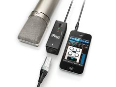 IK Multimedia iRig Pre Microphone Interface for iDevices: Plug any XLR microphone -- from stage dynamics to studio condensers -- into your iPhone, iPod touch, or iPad with the phantom-powered iRig PRE interface.