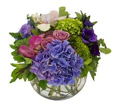 """INDIGO"" - FRESH ARRG. Floral Centerpieces, Flower Arrangements, Succulent Wreath, Garden Items, Elegant Flowers, Ikebana, Indigo, Floral Design, Succulents"