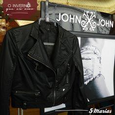 As queridinhas da estação você encontra na 5 Marias!   Jaquetinha John John, a peça coringa que falta em seu guarda roupa! #5Marias #JohnJohn #ootd