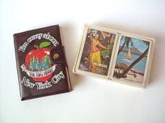 Vintage Souvenir Playing Cards from New York and Hawaii by PoorLittleRobin, $8.00