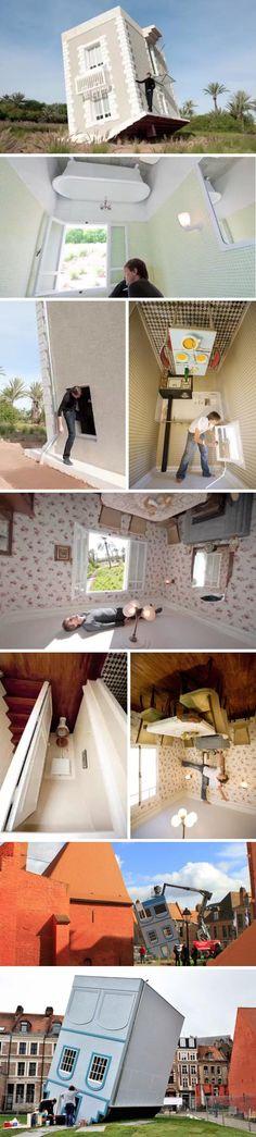 Jean-Francios-Fourtou_Tombee-du-Ciel_Upside-Down-House-Installation_collabcubed