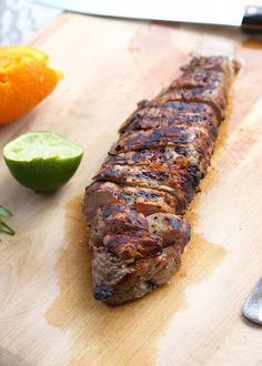 Mojo Pork Tenderloin - I have all the ingredients for this marinade in my pantry!