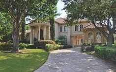 Mediterranean home in Plano, Texas