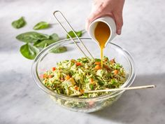 Recipe — Maple-Turmeric Orzo and Chicken Salad Orzo Salad, Salad Bar, Cucumber Salad, How To Cook Orzo, Chicken Orzo, Salad Chicken, Salad Sauce, Salad Wraps, Chicken Salad Recipes