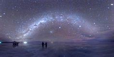 Night sky reflected in Salar de Uyuni, a large salt flat in Bolivia  @jaydawg222 WE ARE GOING SOME DAY!!!!