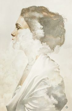 Geosmina: Watercolor Paintings by Oriol Angrill Jordà | Inspiration Grid | Design Inspiration oriolangrill.com