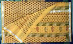 Kota Doria Saree Hand Block Printed Traditional Ethnic sari with blouse Silk Fabric, Ethnic, Floral Prints, Sari, Traditional, Printed, Blouse, Pattern, Handmade