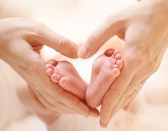 Baby Feet in Mother Hands. Tiny Newborn Baby's Feet on Female Heart Shaped Hands Closeup. Mom and H Photographic Print by Subbotina Anna - Pizza Time Baby Hands, Baby Feet, Kelly Brogan, Heart Shaped Hands, Vaccines And Autism, Baby Shooting, Ivf Clinic, Fertility Center, Ivf Treatment