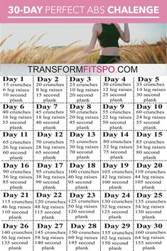 # Do this 30 day perfect abs challenge to feel great and strengthen your body. Build up your confidence a little bit every day with this amazing routine that will leave you fe # Do this 30 day perfect abs challenge to feel great and strengthen your bo Motivation Regime, Fitness Motivation, Fitness Herausforderungen, Health Fitness, Physical Fitness, Fitness Quotes, Fitness Journal, Fitness Goals, Mens Fitness