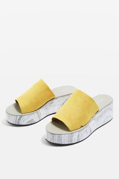 ef1b8ecb2ebb DIMPLE Marble Effect Wedge Sandals