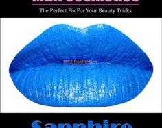 Blue Lipstick- Color Rich Mineral Lipstick-Sapphire-In Tube