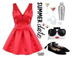 """""""Yoins sept"""" by natcatt ❤ liked on Polyvore featuring Alice + Olivia, LSA International, Kraftware, summerdate, yoins, yoinscollection, loveyoins and rooftopbar"""