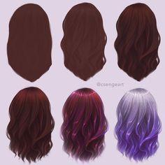 Vfx Tutorial, How To Draw Hair, Art Tips, Art Tutorials, Art Reference, Long Hair Styles, Beauty, Instagram, Sketch