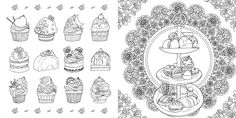 Fantacy Store [MADE IN KOREA] Coloring Book For Children Adult Graffiti Painting Drawing Book Like SECRET GARDEN