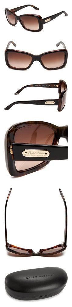 f0448d58b93 Amazon.com  Ralph Lauren Womens 0RL8066 500187 Rectangle Sunglasses