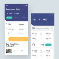 Travel App UI designed by Giga Tamarashvili. Connect with them on Dribbble; Web Design, App Ui Design, Interface Design, Flat Design, User Interface, Website Design Inspiration, Ui Design Mobile, Template Web, Card Ui